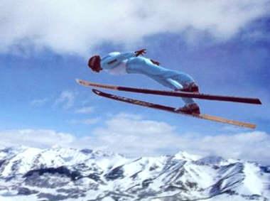 esqui na neve