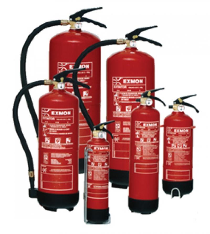 Extintores como escolher guardar e utilizar como fazer - Extintor para casa ...