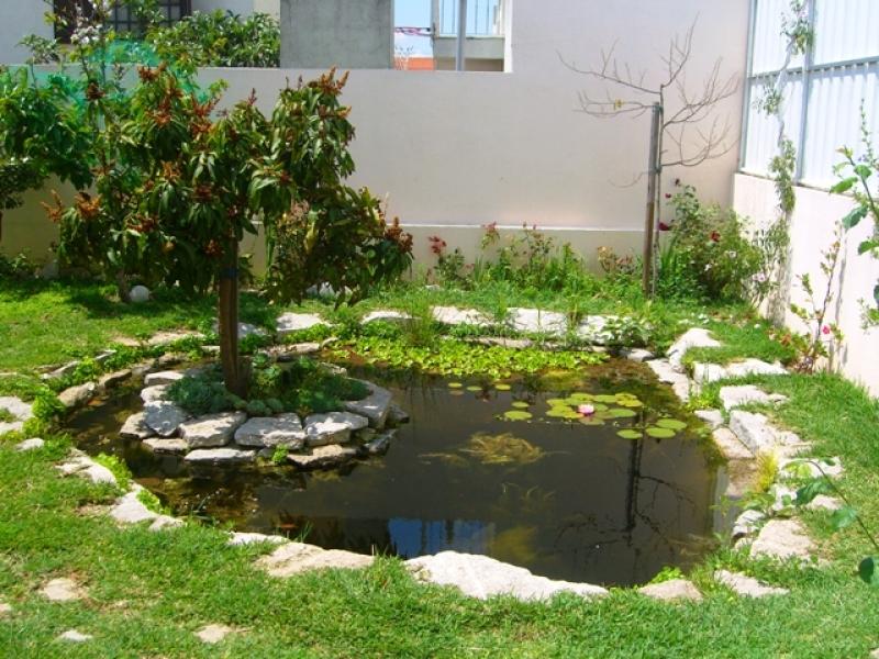 Como fazer um lago no jardim  Como Fazer