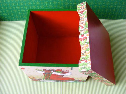 Caixa para o Pai Natal