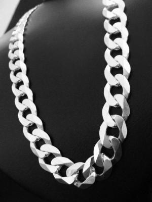fio de prata com elo reforçado