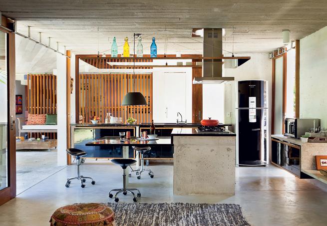 Cozinhas planejadas como decorar cozinhas  Como Faz # Ilha Cozinha Em Alvenaria