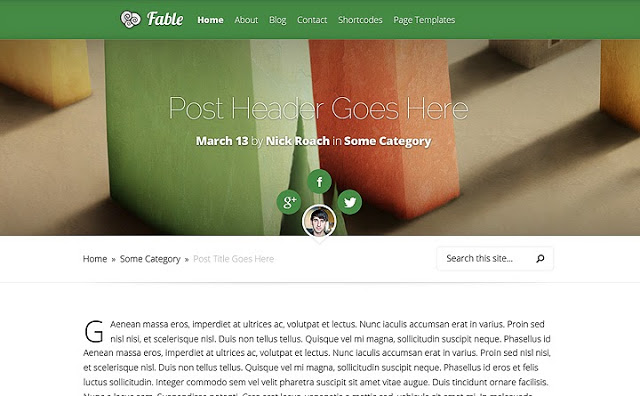 Fable-Responsive-WordPress