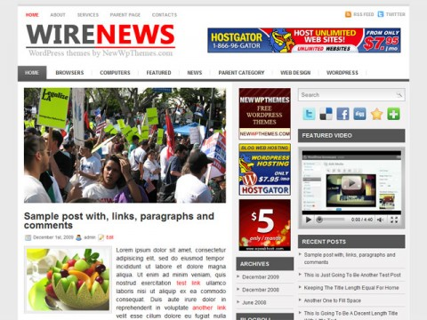 Wire-News-WP-Theme