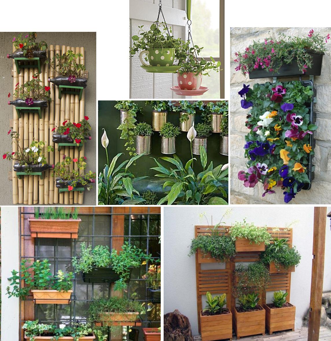 ideias baratas para jardim vertical : ideias baratas para jardim vertical:Varanda com jardim vertical – Deixe sua varanda com a cara da moda