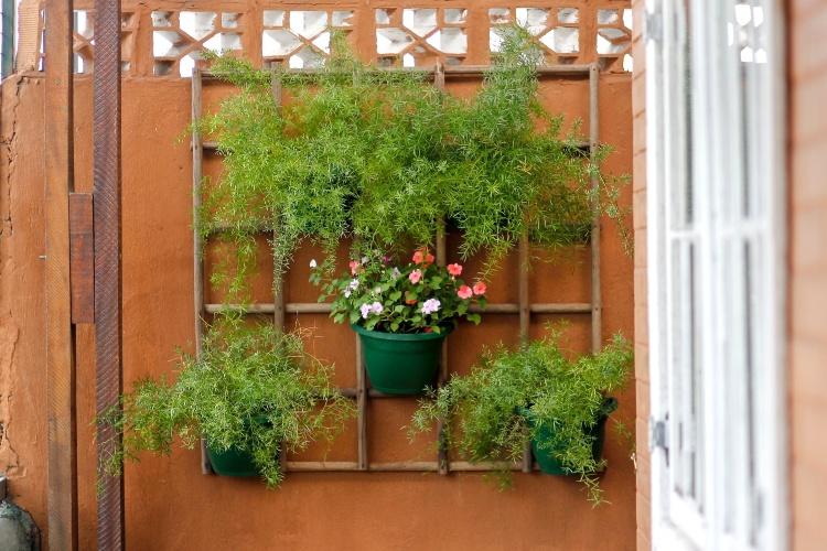 Escolha os vasos ideais para seu jardim vertical - Como Fazer