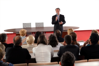 orador deve expor o seu ponto de vista