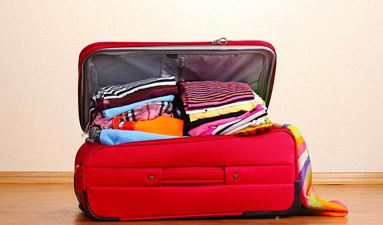dicas para fazer a mala de viagem